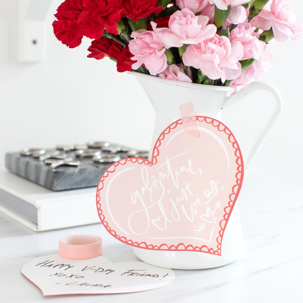 Galentine Card Printable