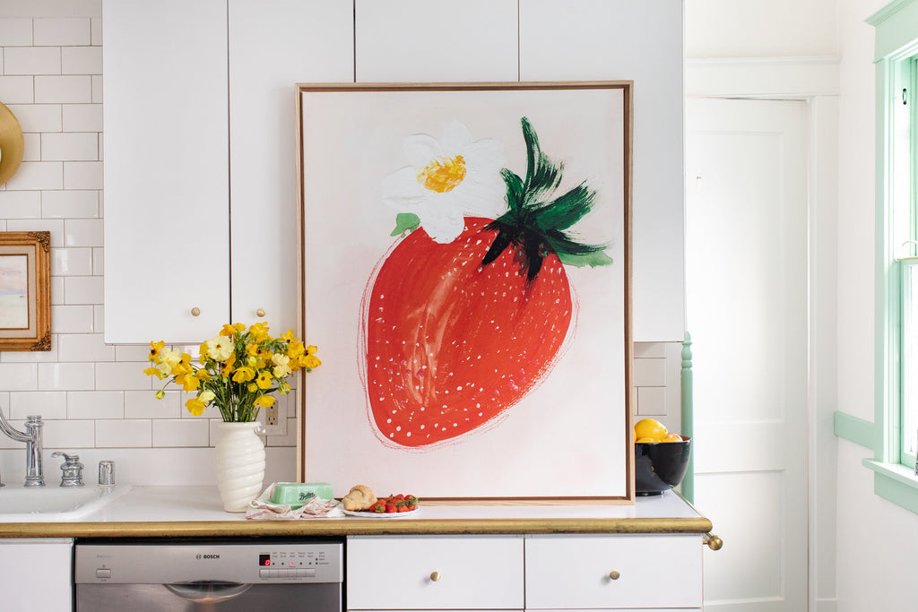 Strawberry On Blush