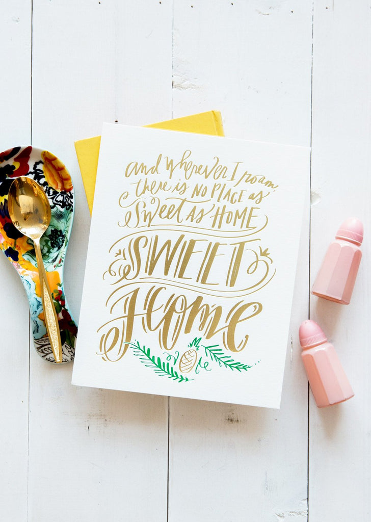 No. 147, Home Sweet Home Print
