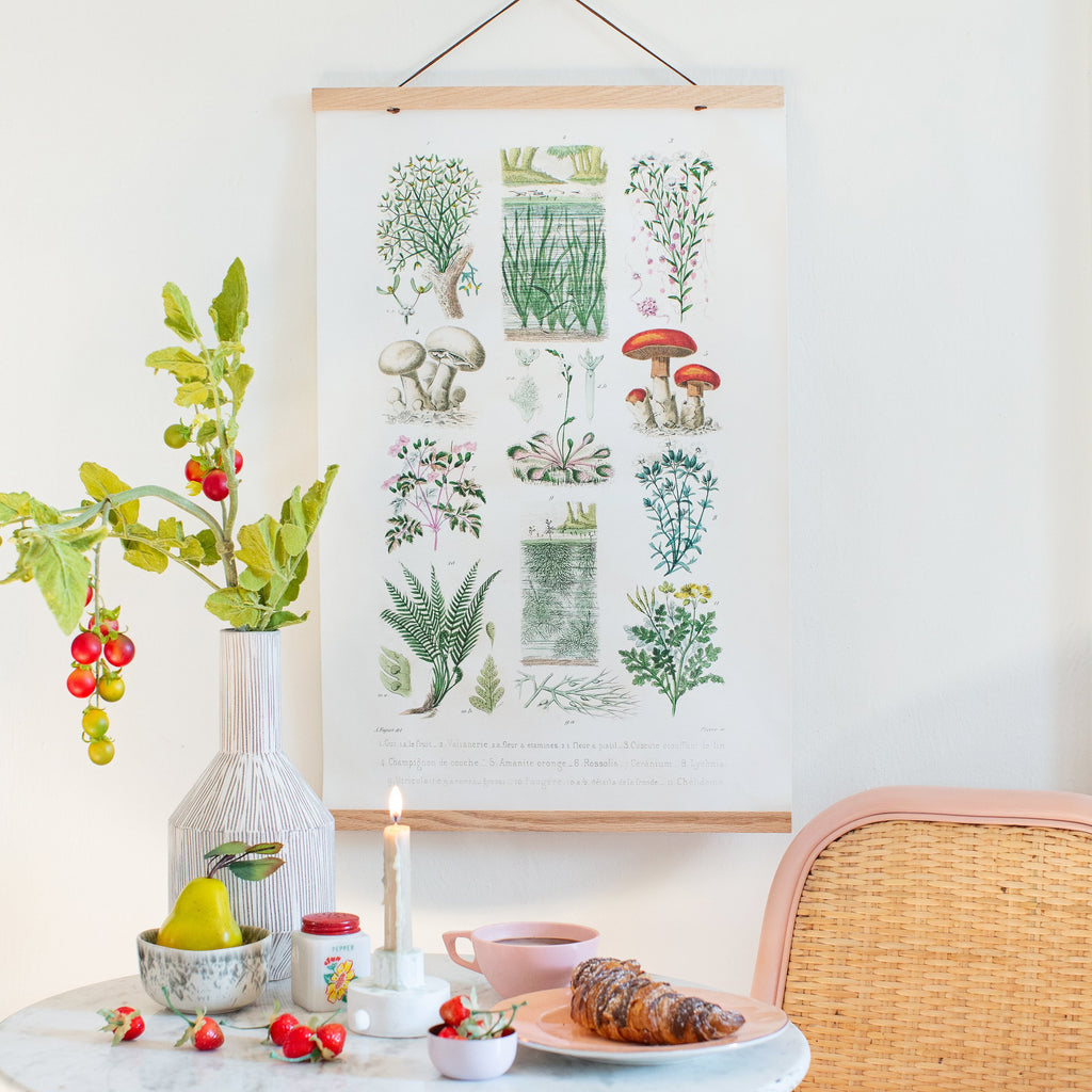 French Garden Botanical (Hanger & Kicker Frames)