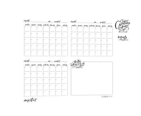 Quarterly Creatives Calendar®