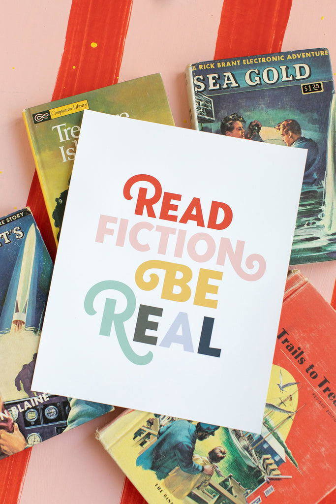 Read Fiction Be Real