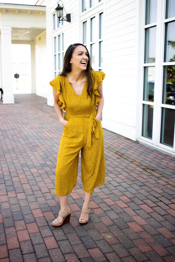 Norah Dotted Jumpsuit