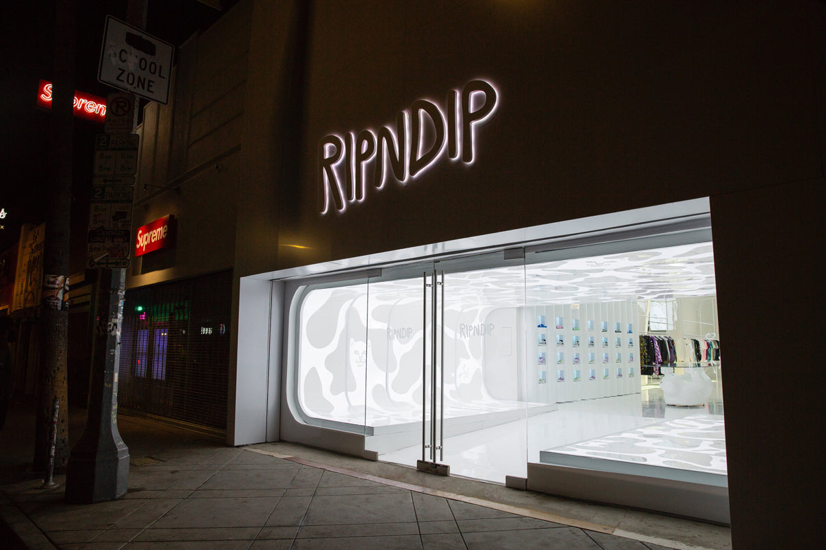 Ripndip los Angeles flagship store front