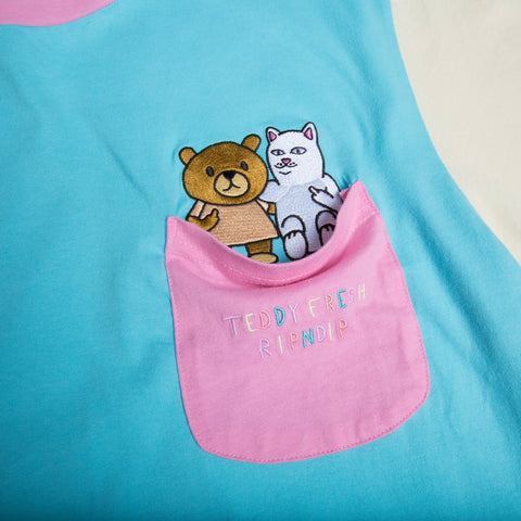 Teddy Fresh BFF Pocket Tee (Multi)