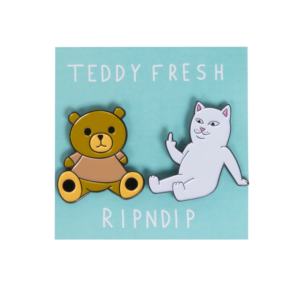 Teddy Fresh BFF Pin Pack