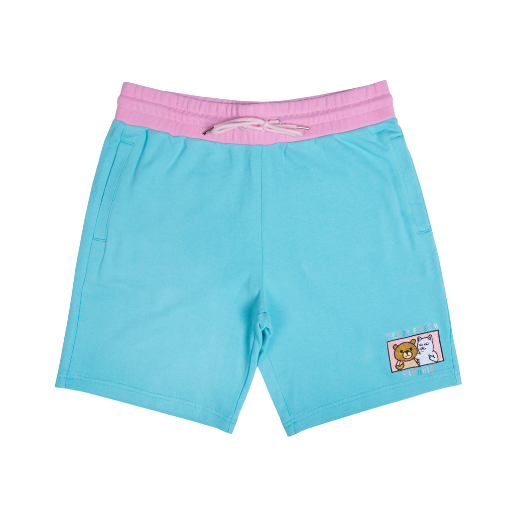 Teddy Fresh BFF Sweat Shorts (Multi)