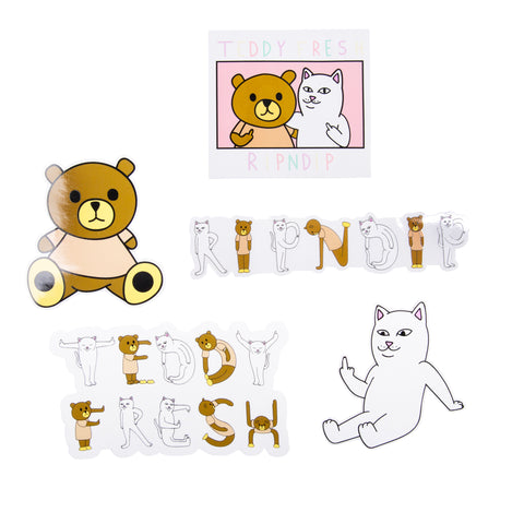 Teddy Fresh BFF Sticker Pack