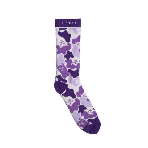 Invisible Socks (Purple)