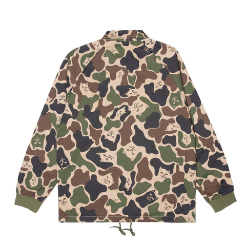 Praying Hands Twill Jacket (Army Camo)