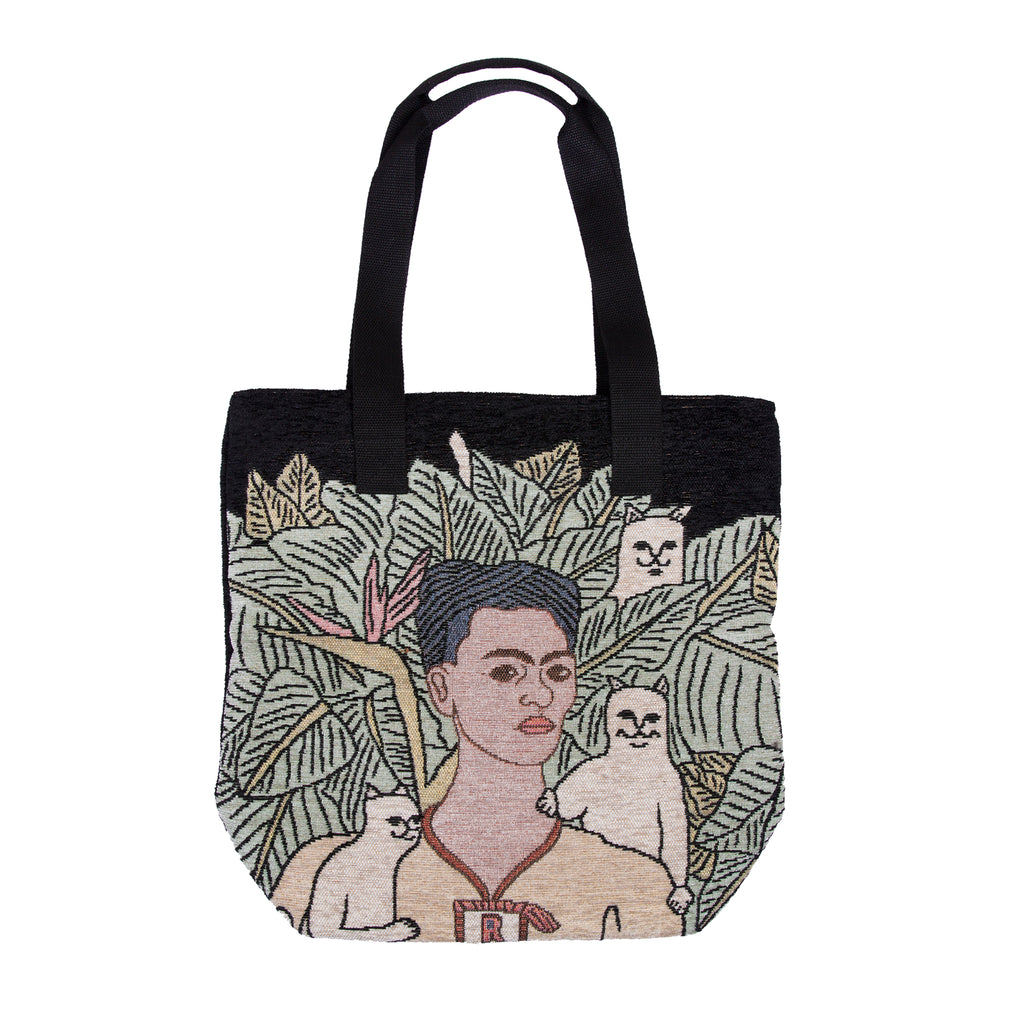 Self Portrait Tapestry Tote Bag
