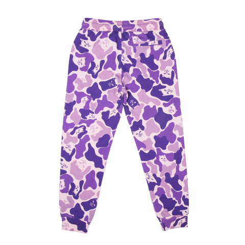 Nermal Camo Sweat Pants (Purple Camo)