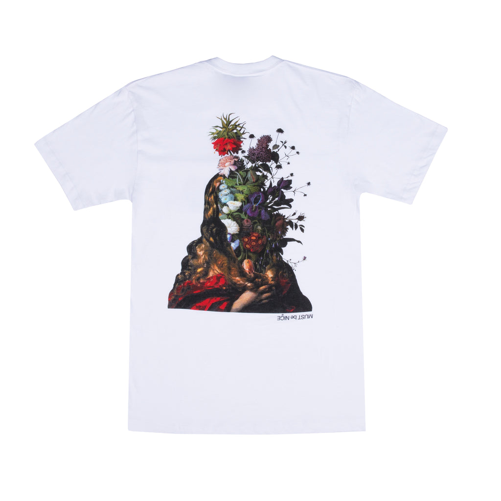 Bouquet Tee (White)