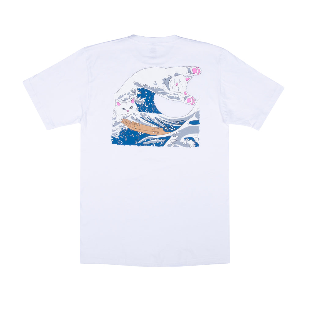 The Great Wave Of Nerm Tee (White)