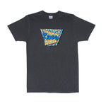 Retro Tee (Black Vintage Wash)