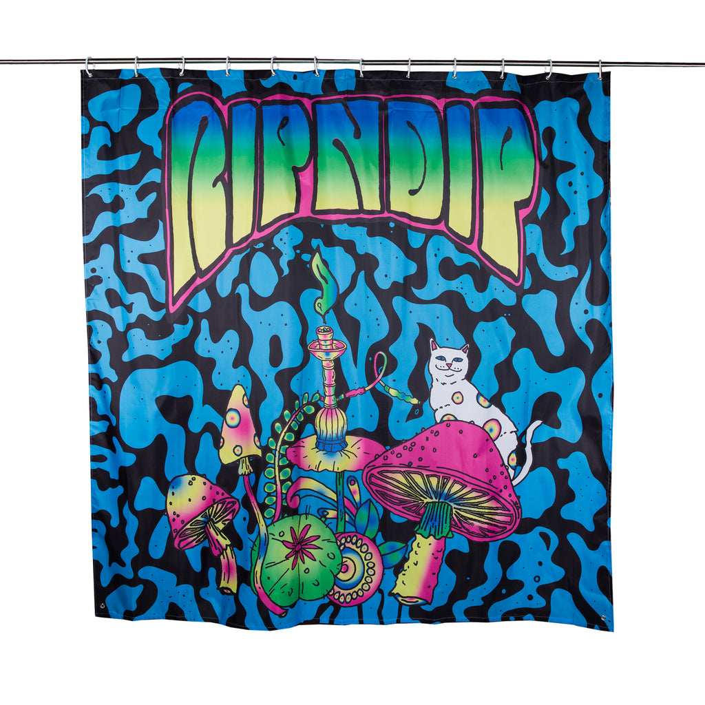 Psychedelic Shower Curtain RIPNDIP