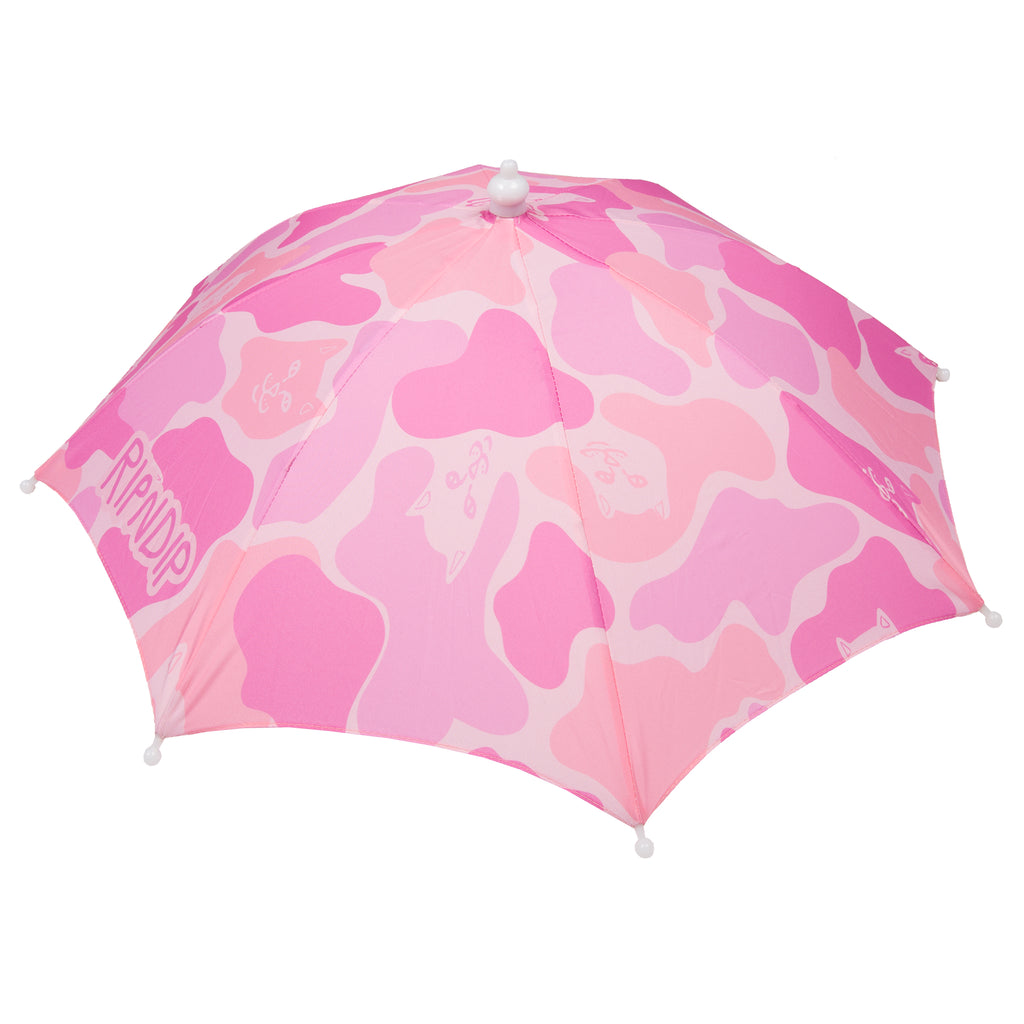 Camo Umbrella Hat (Pink)