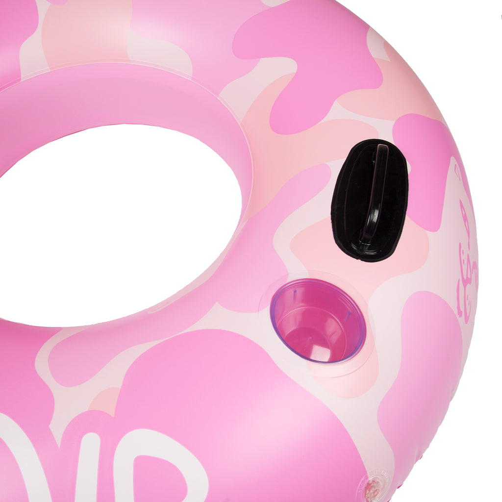 Camo Tube Float (Pink)