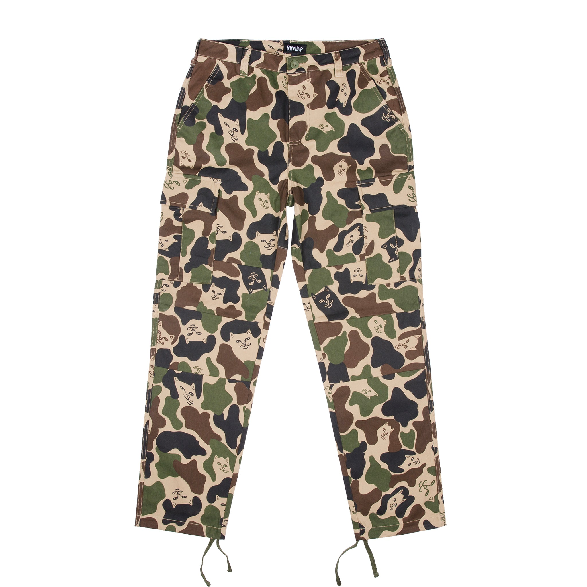 Nermal Camo Cargo Pants (Army Camo)