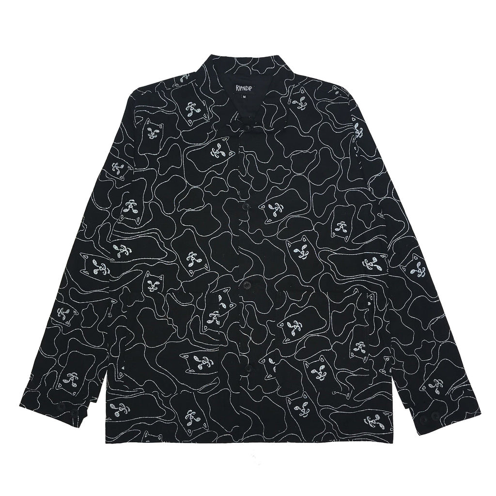 Nermal 3M Line Camo Military Jacket (Black 3M)