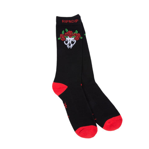 Dead Rose Socks (Black)