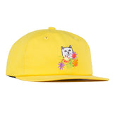 Nermcasso 6 Panel Strapback (Yellow)