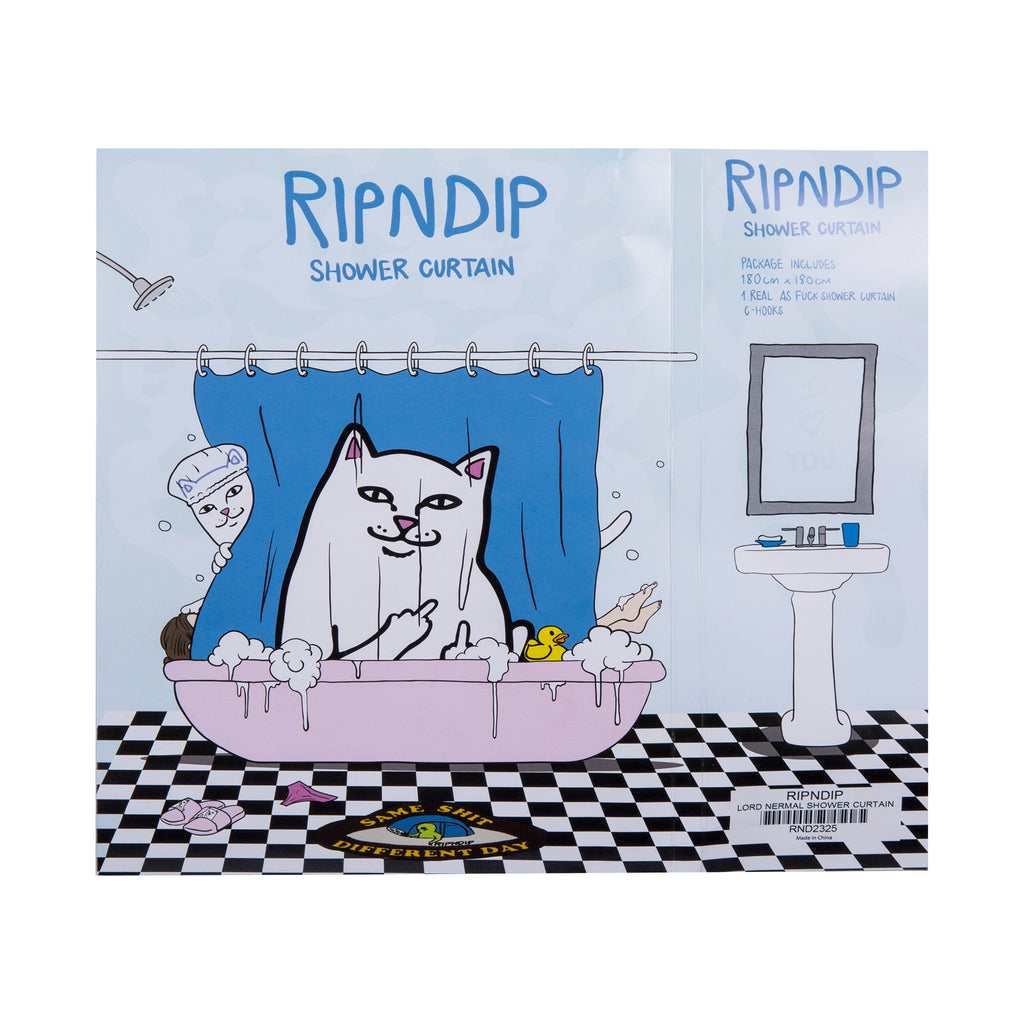 Lord Nermal Shower Curtain Ripndip