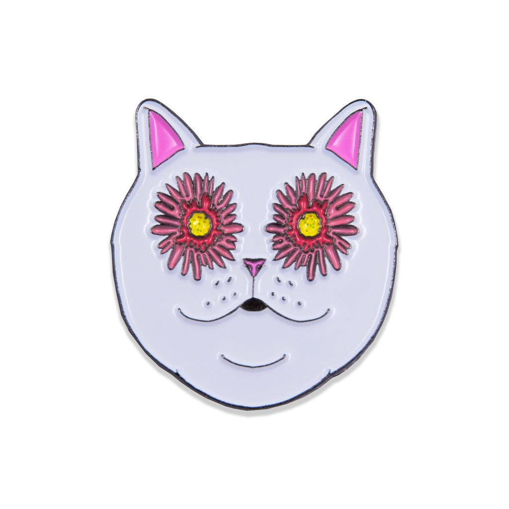 Flower Eyes Pin
