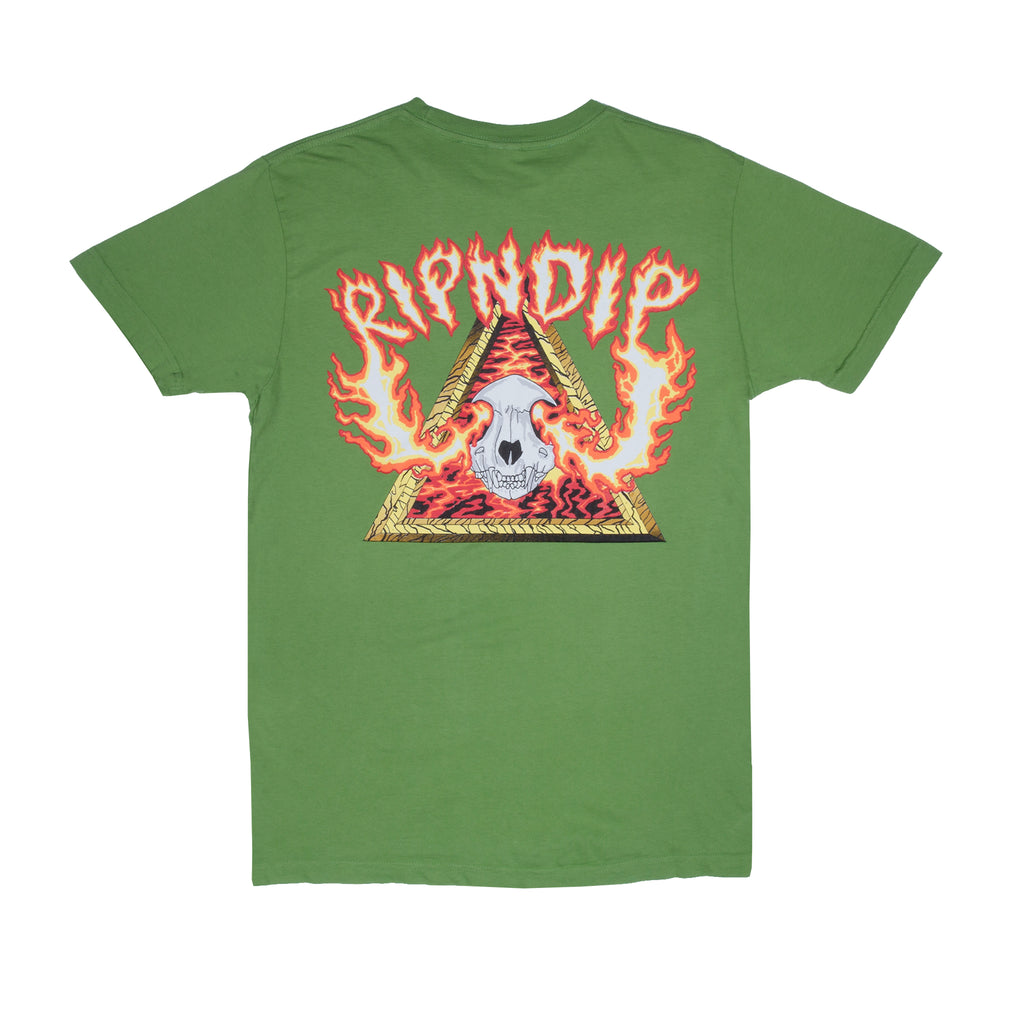Inferno Tee (Olive)