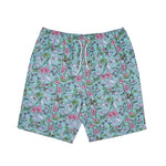 Nermal Floral Board Shorts (Aqua)