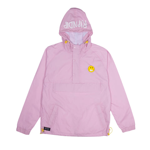 Everything Will Be Ok Anorak Jacket (Pink)