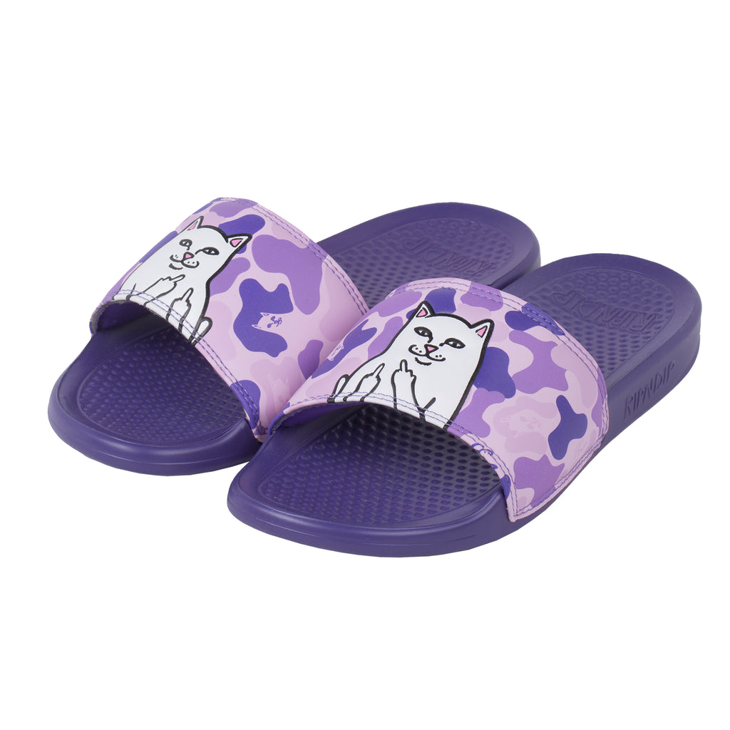 Lord Nermal Slides (Purple Camo)