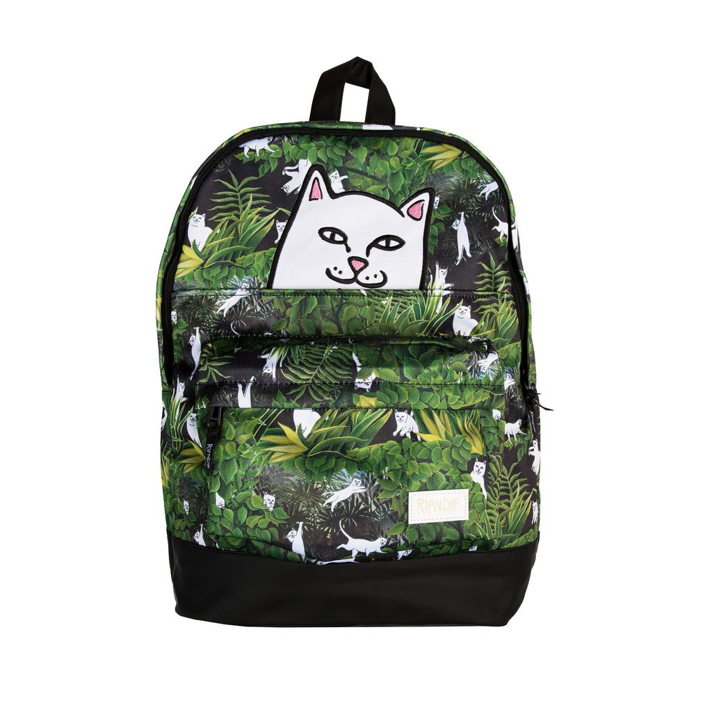 Jungle Nerm Backpack (Black)