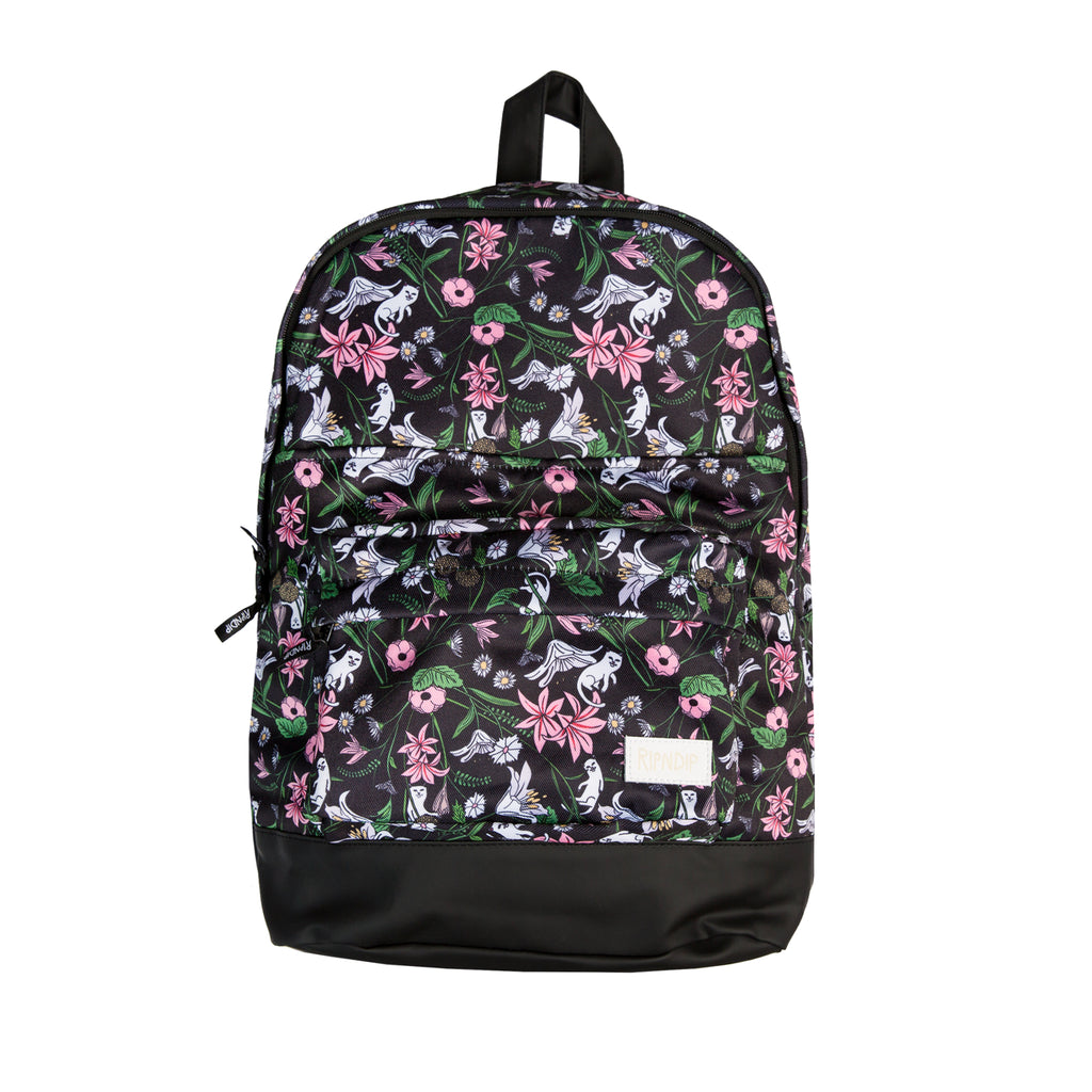 Flower Nerm Backpack (Black)