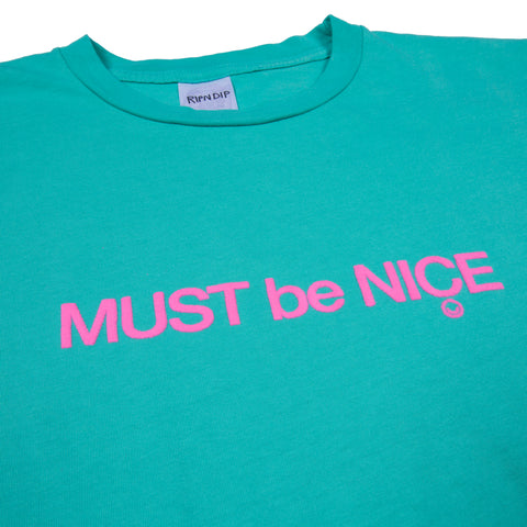MBN Puffy Print Tee (Teal)