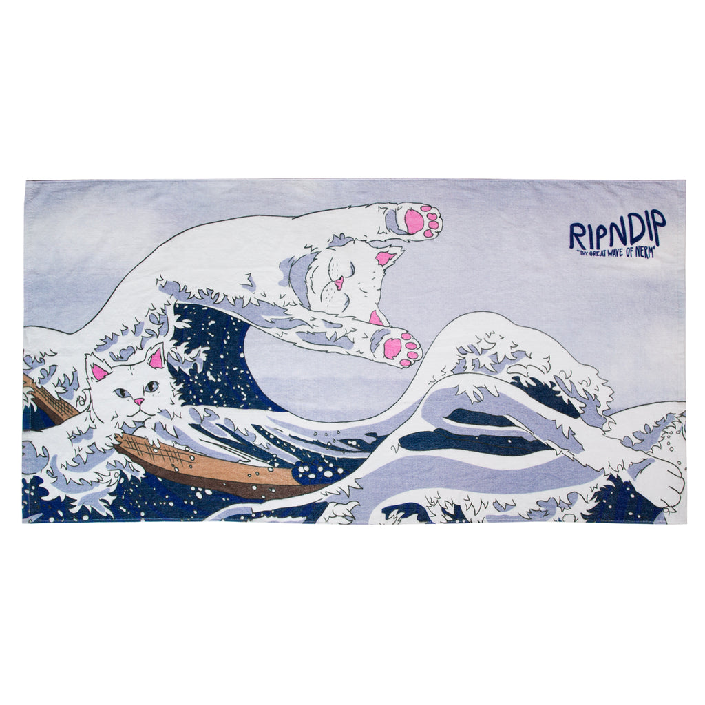 Great Wave Beach Towel