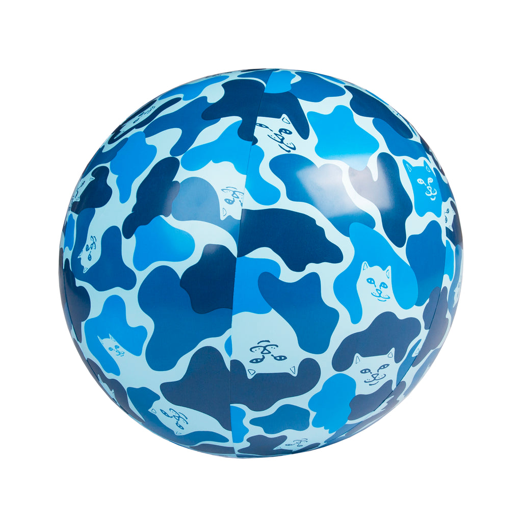 Camo Beach Ball (Blue)