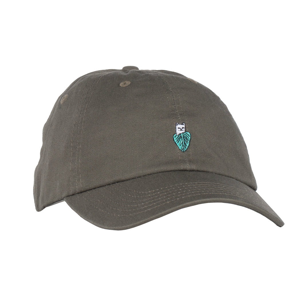 95e631b7e894b Nermal Leaf Dad Hat (Olive)
