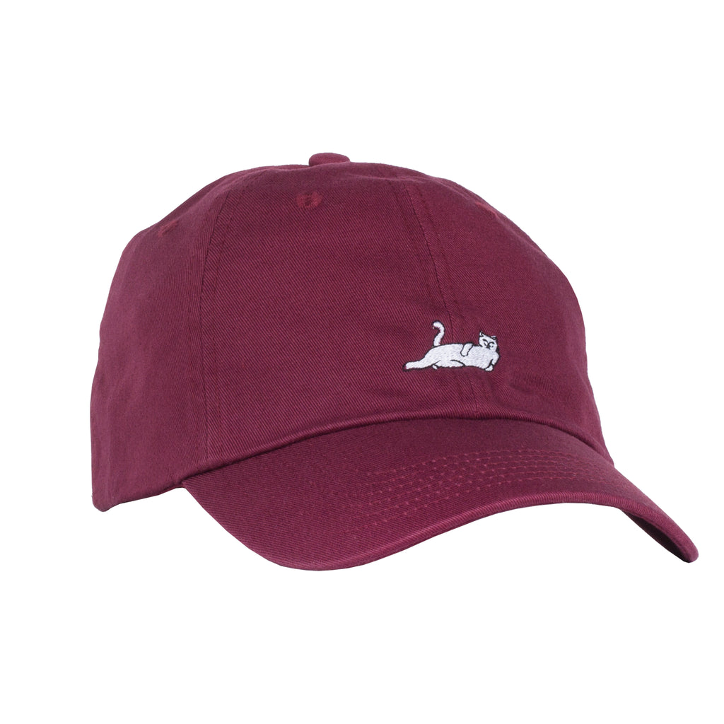 Castanza Dad Hat (Burgundy)