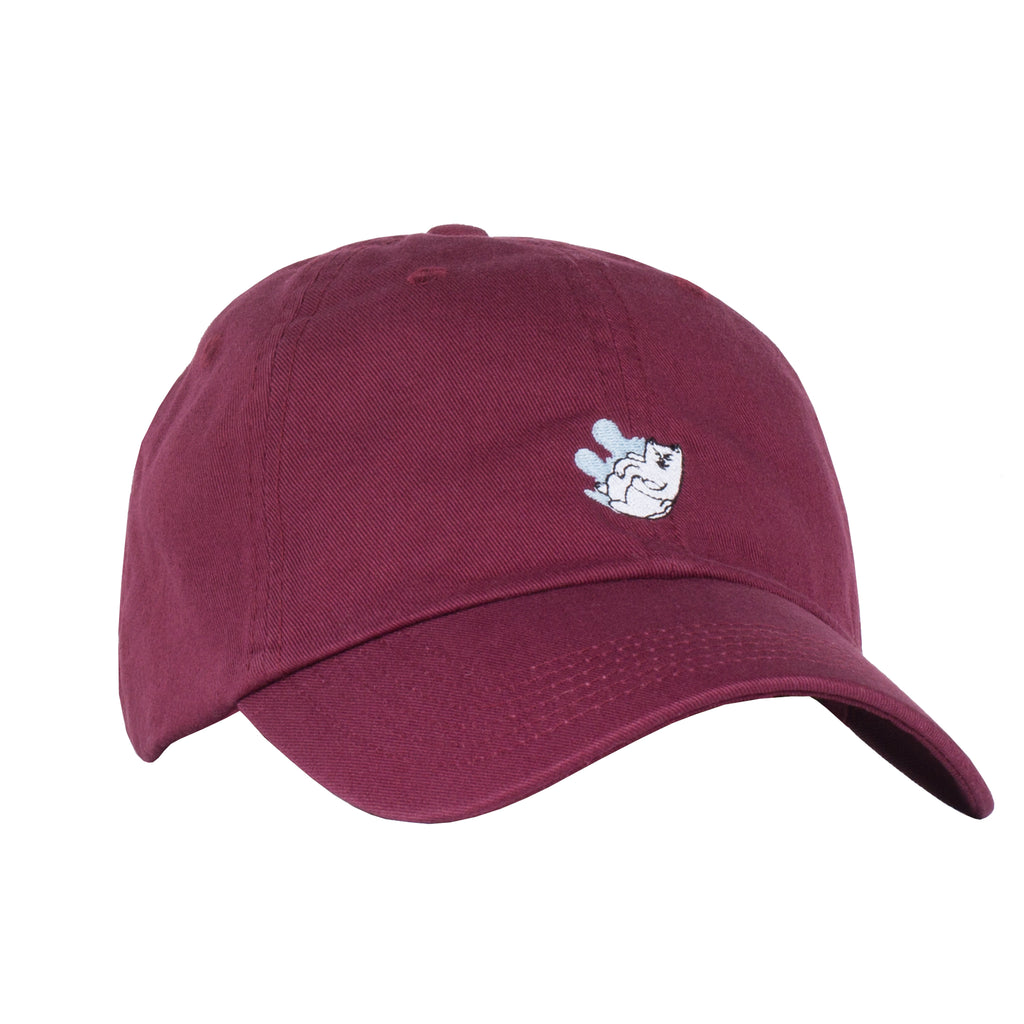 Nermal Splash Dad Hat (Maroon)