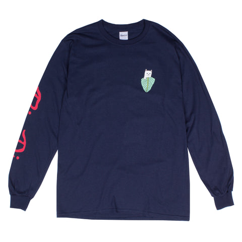 Nermal Portrait L/S (Navy)