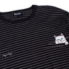 Peek A Nermal Knit L/S (Black/White)