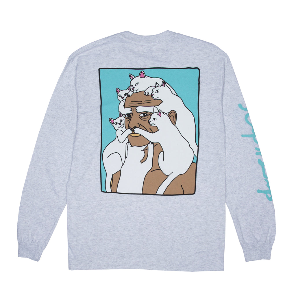 Nerm Beard L/S (White Speckle)