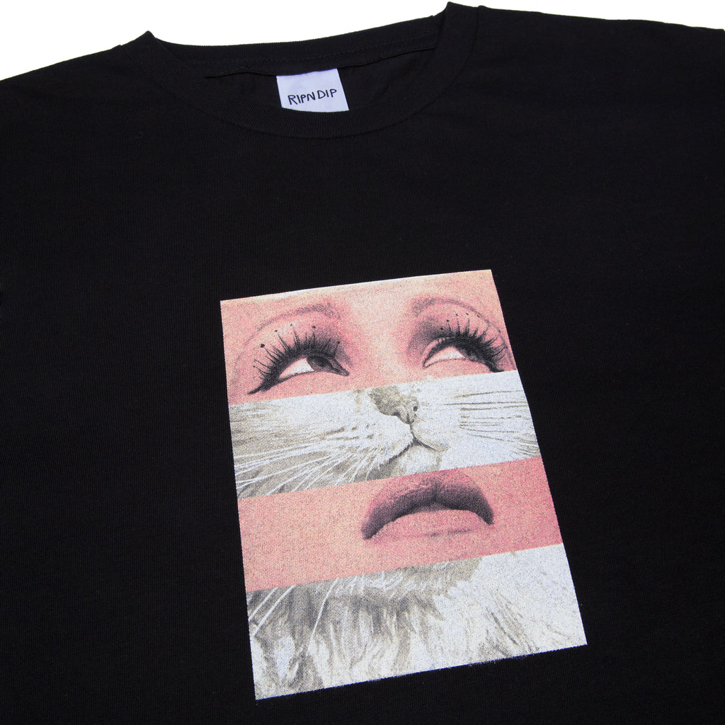 Pussy Face Tee (Black)