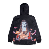 Mother Fish Baby Hooded Coaches Jacket (Black)