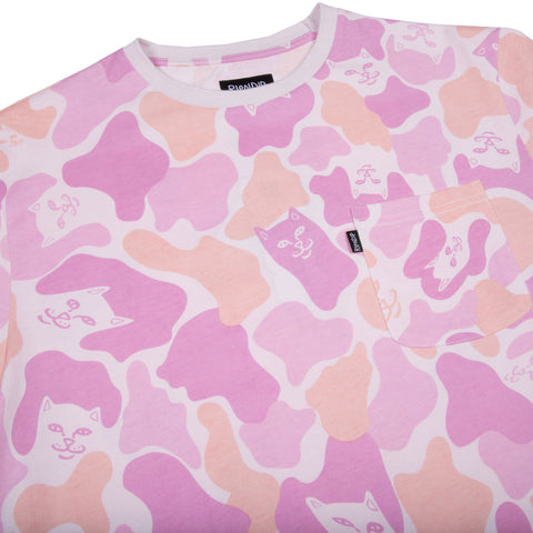 Invisible Pink Camo Tee (Pink)