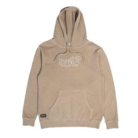 The Great Wave Of Nerm Hoodie (Tan)