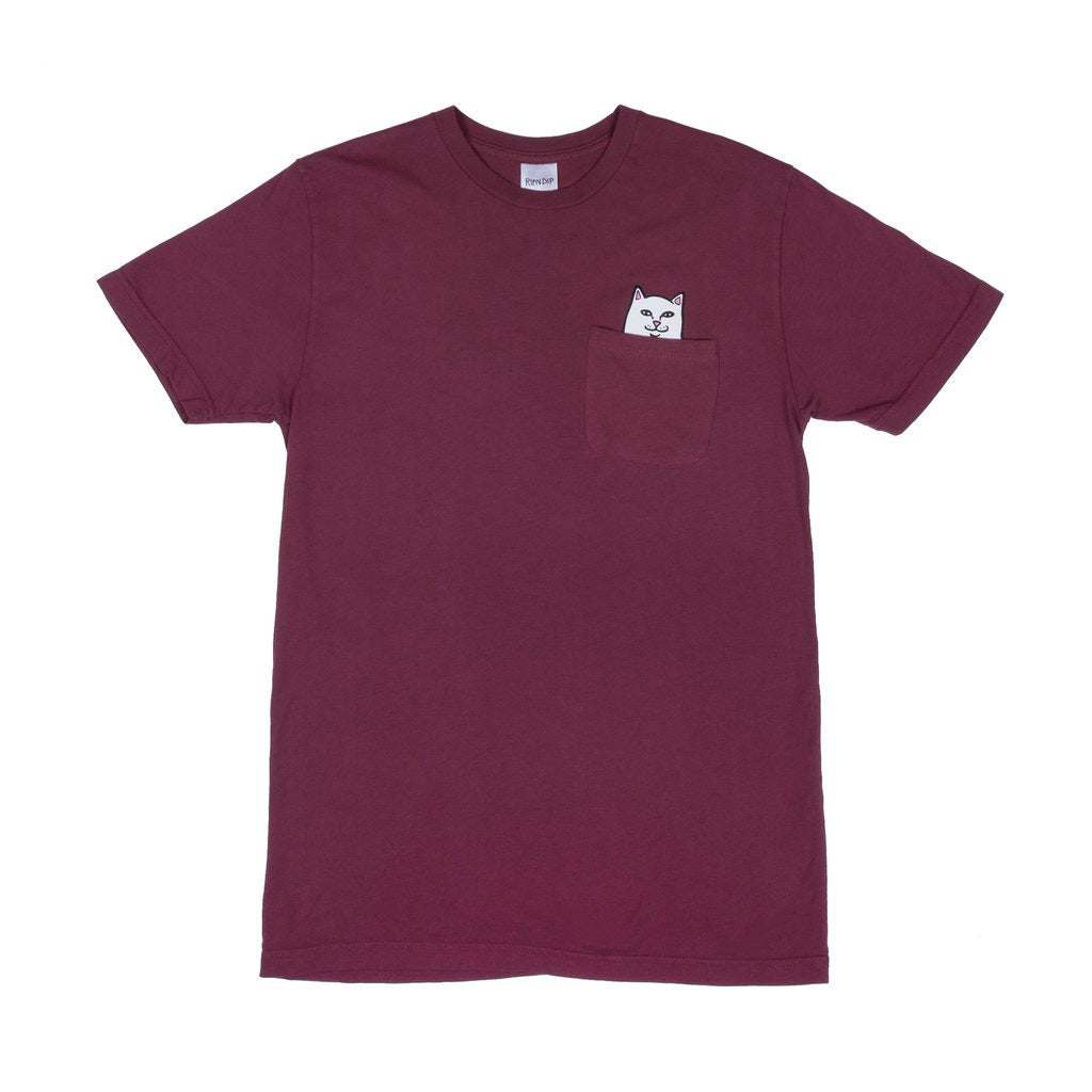 Lord Nermal Pocket Tee (Wine)