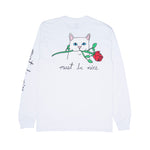 Romantic Nerm L/S Tee (White)