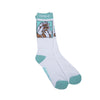 Nerm Beard Socks (White)